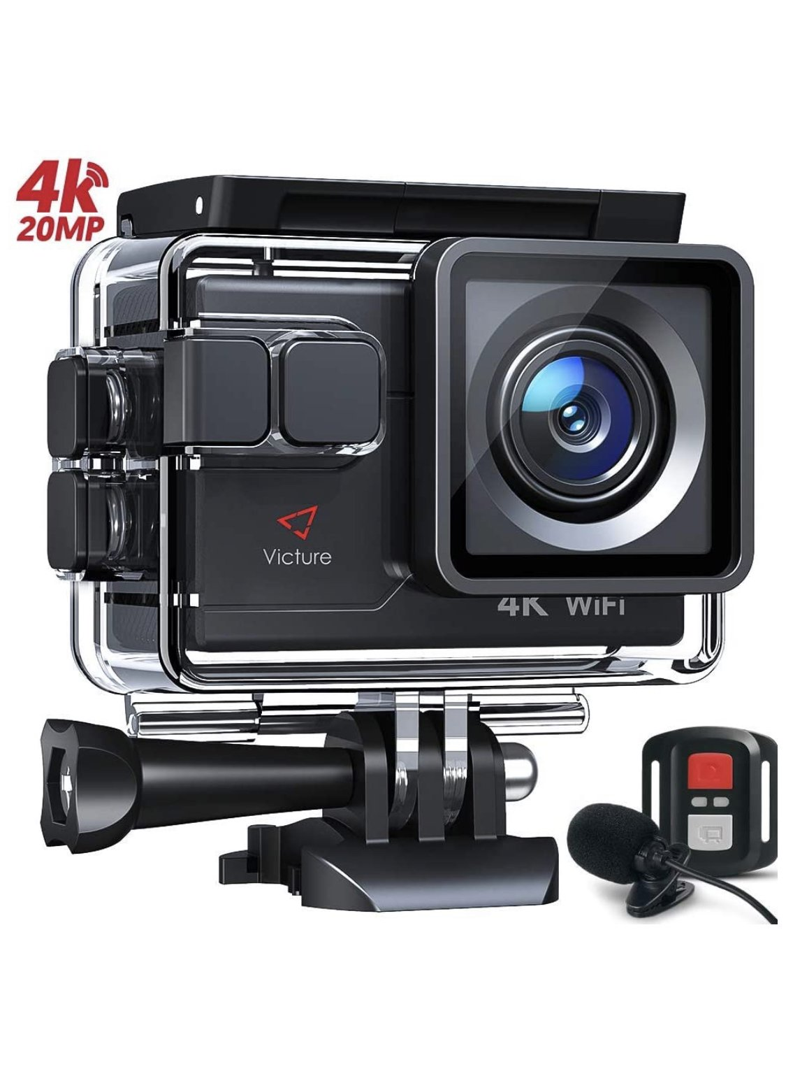 Victure Action Underwater Camera