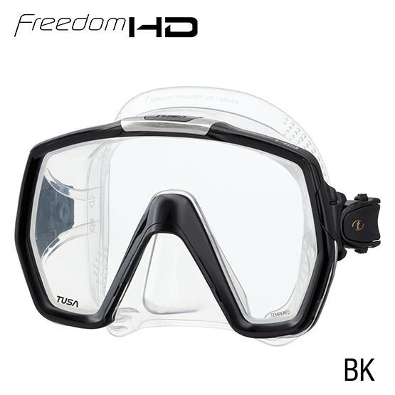 TUSA FREEDOM HD MASK - BLACK