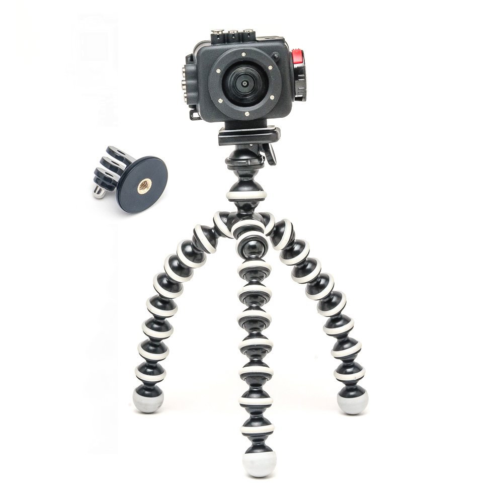 Pro Mount Flexible Lightweight Portable Tripod