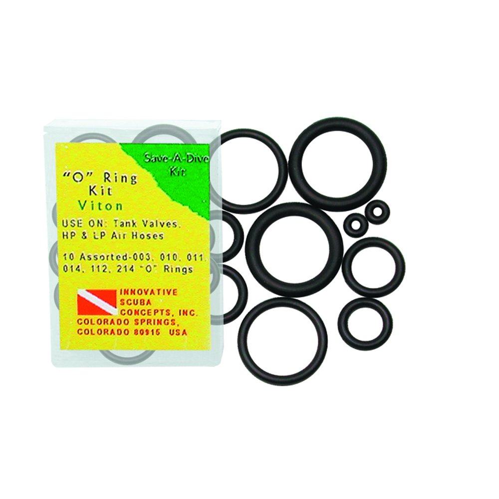 O-RINGS 10 ASSORTED