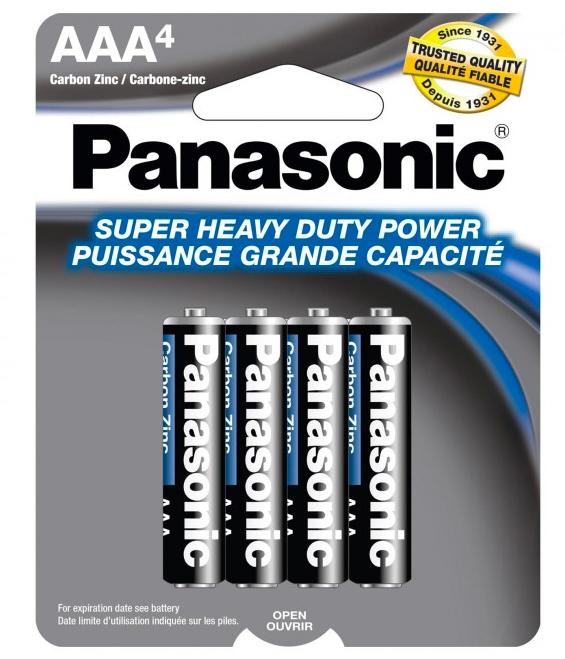 Panasonic AAA Heavy Duty 1.5V Battery