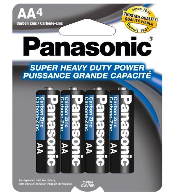 Panasonic AA Heavy Duty 1.5V Battery