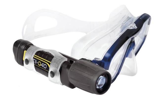 UK MINI-Q40 MK2 Dive torch