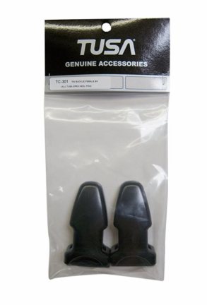 REPLACEMENT TUSA FIN BUCKLE, FEMALE, BK (ALL TUSA OPEN HEEL FINS)