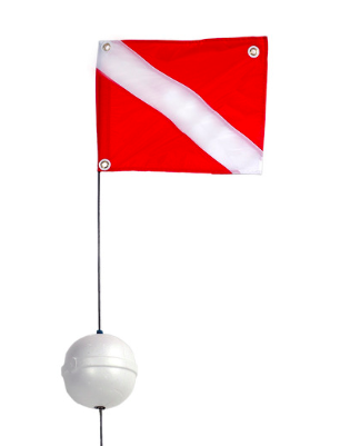 Dive Snorkeling Flag Float Combo