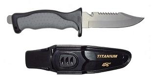 Titanium Knife 5 Blade