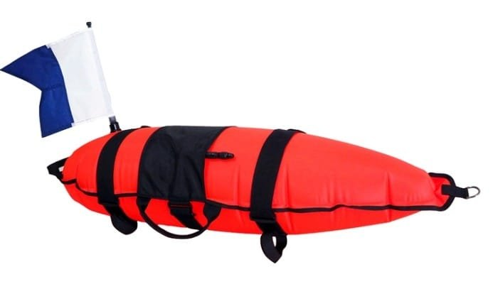 Snorkel/Spearfishing Dive Float w/Flag
