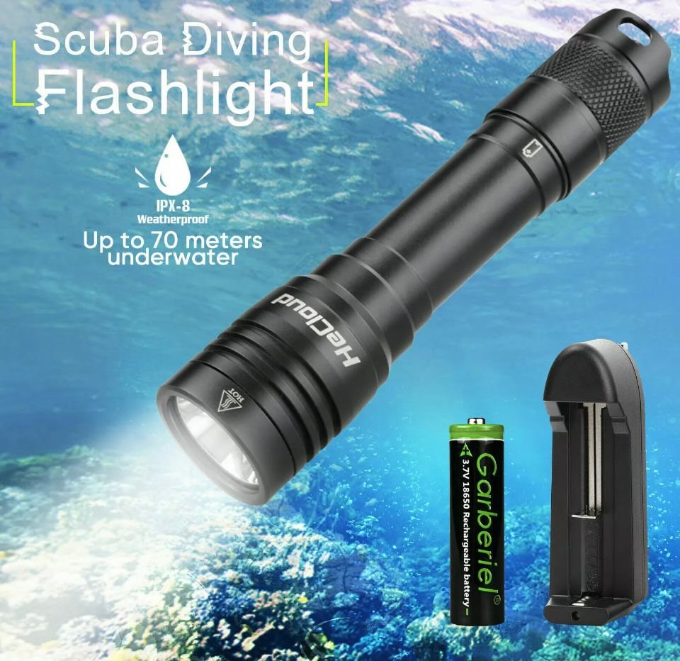 Dive Light w/Charger