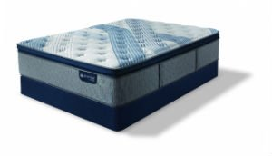 icomfort Blue Fusion 1000 Plush Pillow Top Smooth Top (Mattress Only)