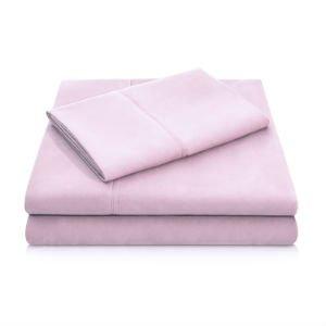 Brushed Microfiber Sheets - Blush