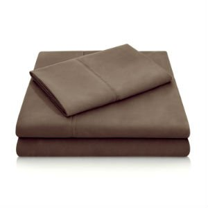 Brushed Microfiber Sheets - Chocolate