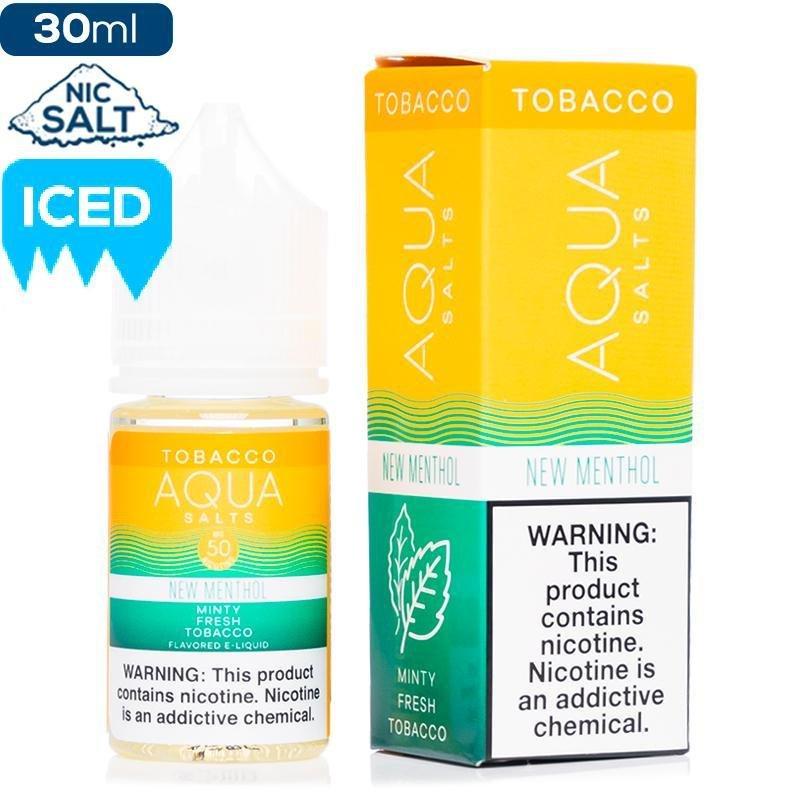 Aqua Tobacco Menthol