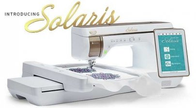 baby lock solaris sewing embroidery machine