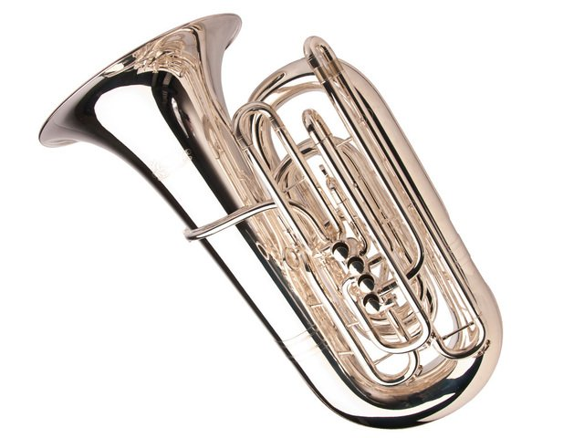 Adams Custom BBbTuba, Silver Plated
