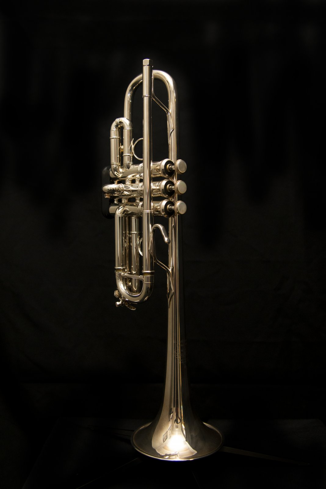Bach Stradivarius Chicago C Trumpet, Silver Plated