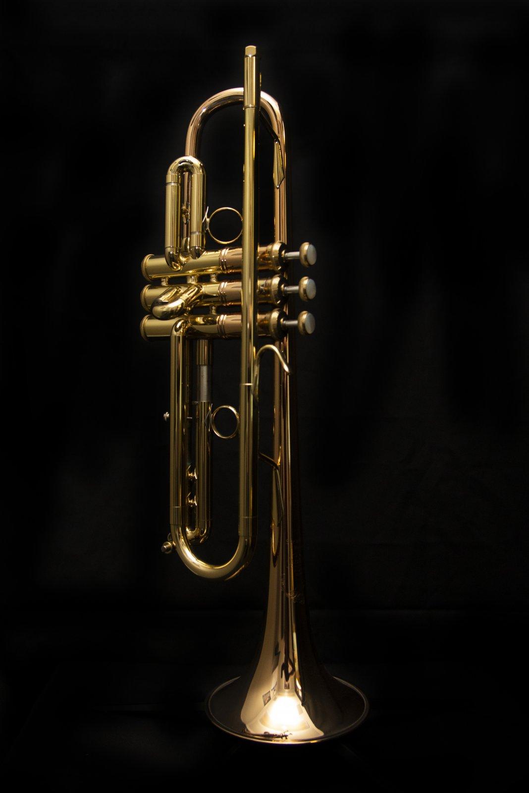 Bach LT1901B Stradivarius Commercial Bb Trumpet, Medium Large Bore