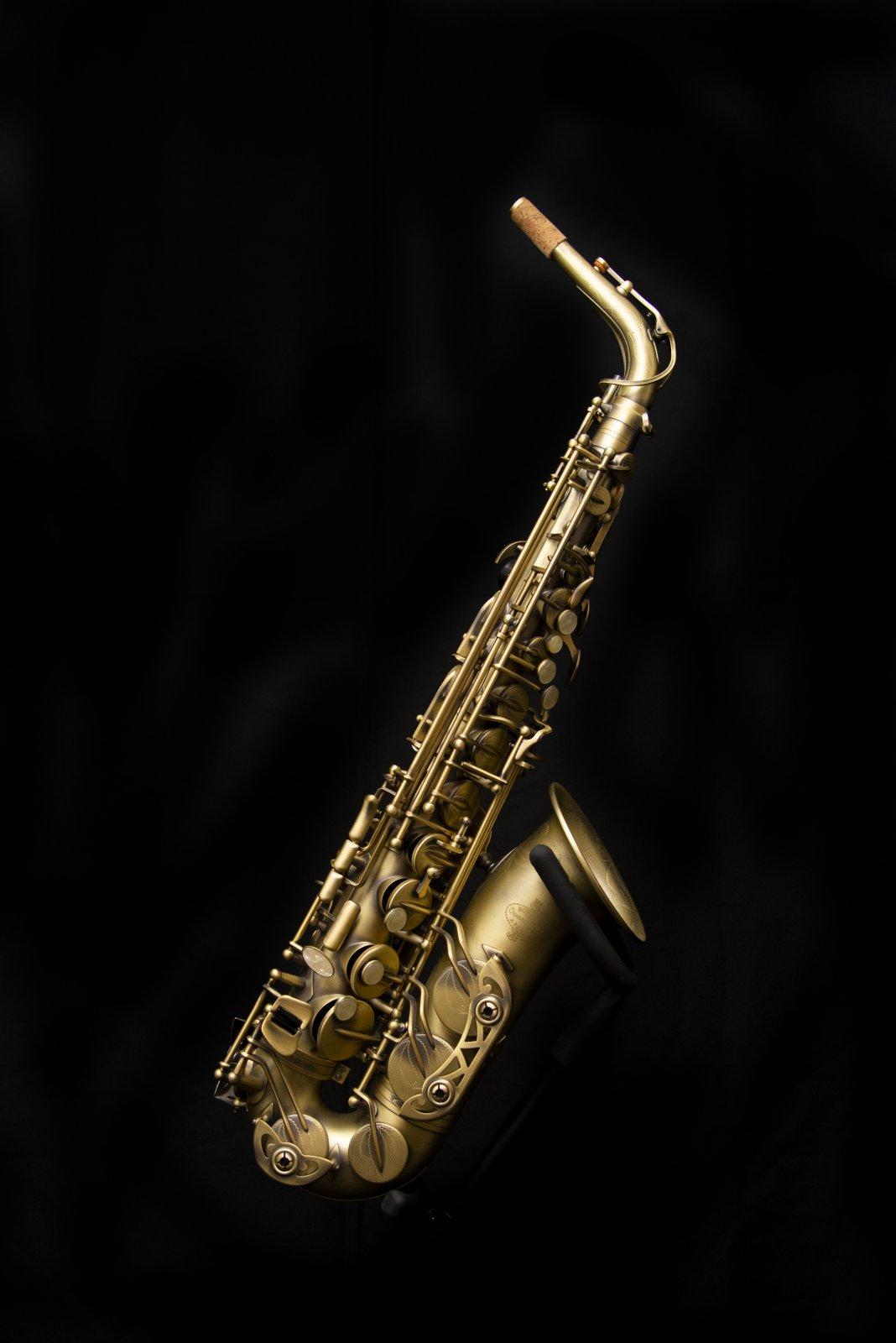 Buffet Crampon 400 Series Professional Alto Saxophone, Antique Matte Finish