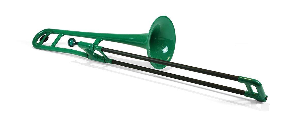 Jiggs pBone (Plastic Trombone), Green