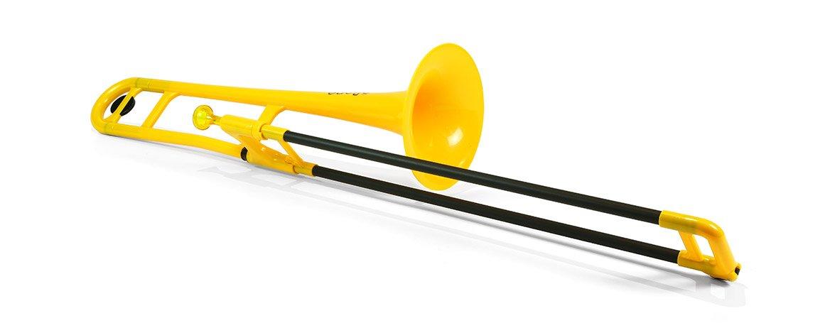 Jiggs pBone (Plastic Trombone), Yellow