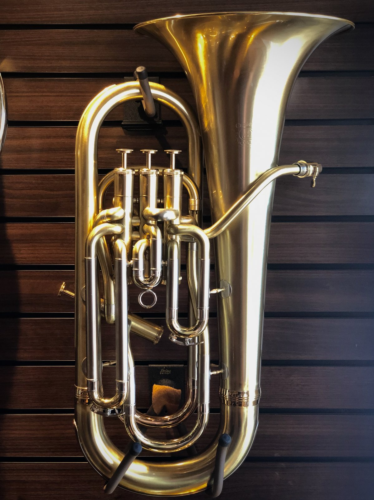 USED Adams E1 Euphonium, Yellow Brass, Brushed Lacquer