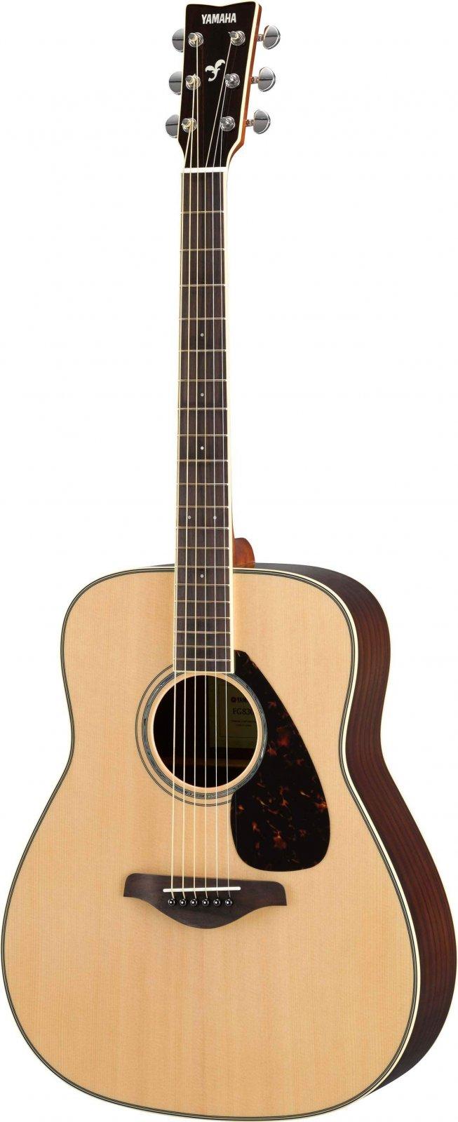 Yamaha FG830 Acoustic Folk Guitar (Comes with soft case)