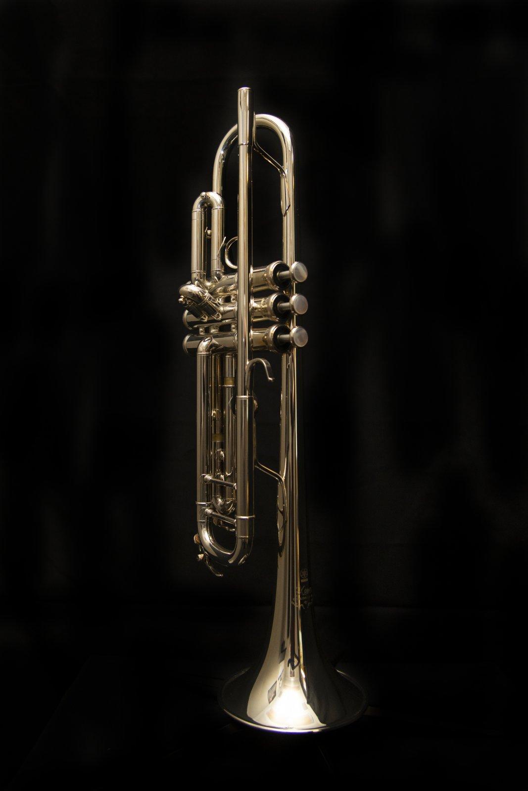 Yamaha YTR-8335IIGS Xeno Bb Trumpet, Silver Plated