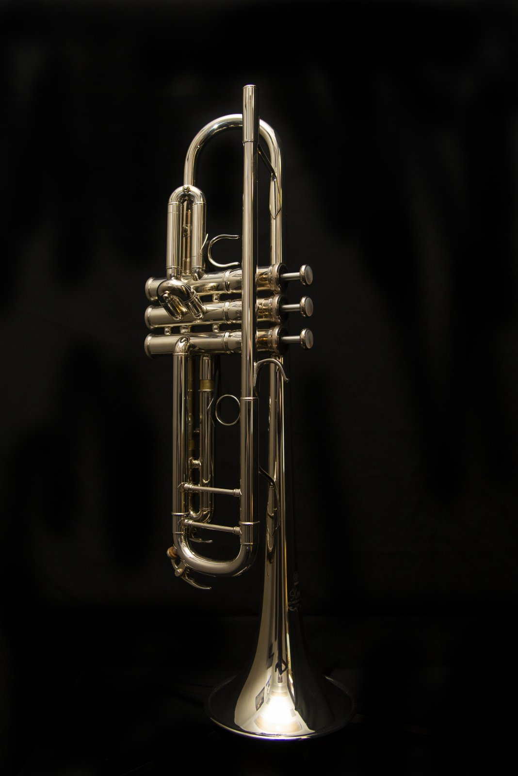 Yamaha YTR9335NYS Xeno Artist Model Bb Trumpet, New York Series, Silver Plated