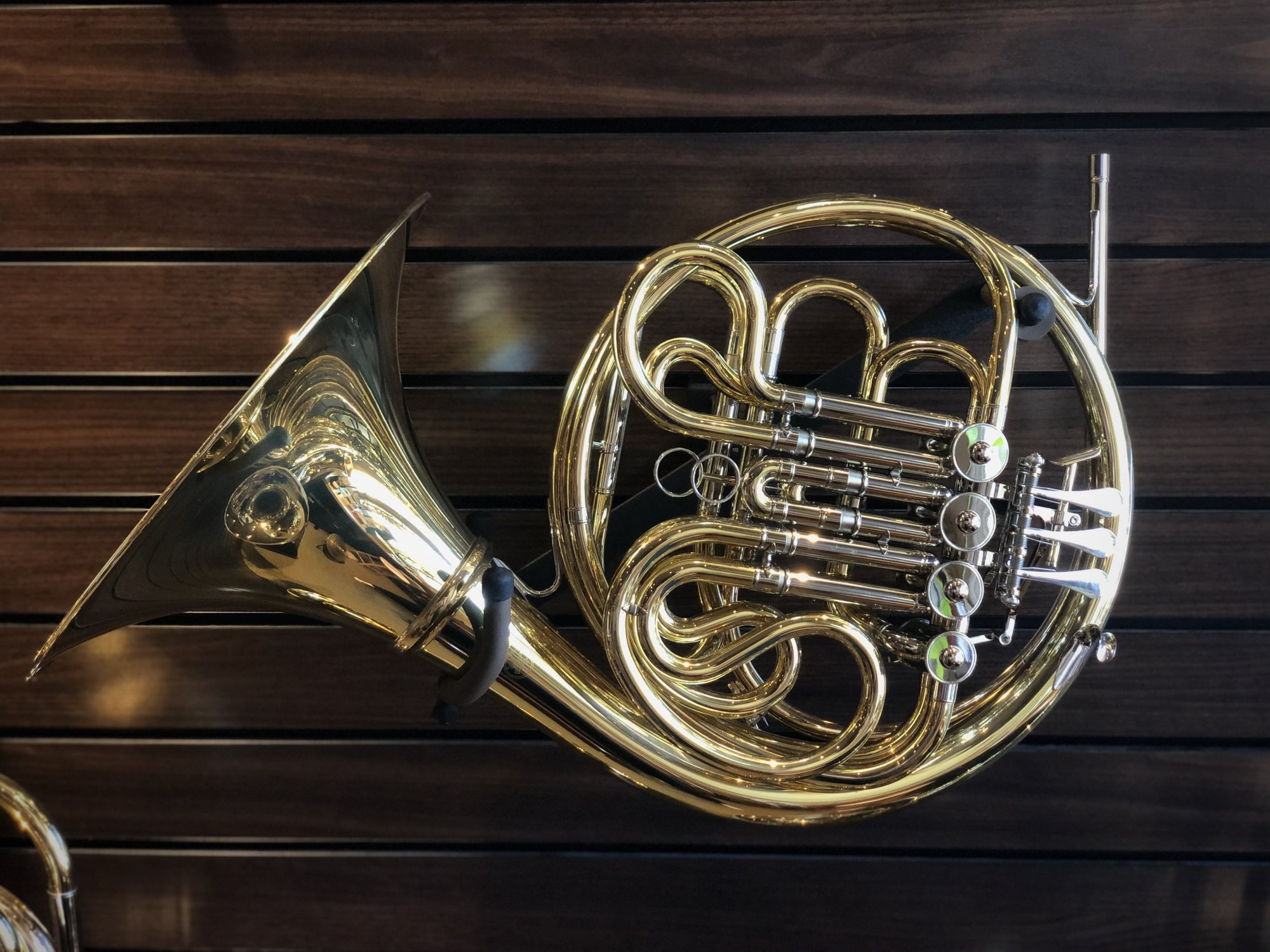 Yamaha YHR-671D Double French Horn, with Detachable Bell