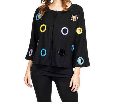 Adore - Jacket w/ Color Grommets
