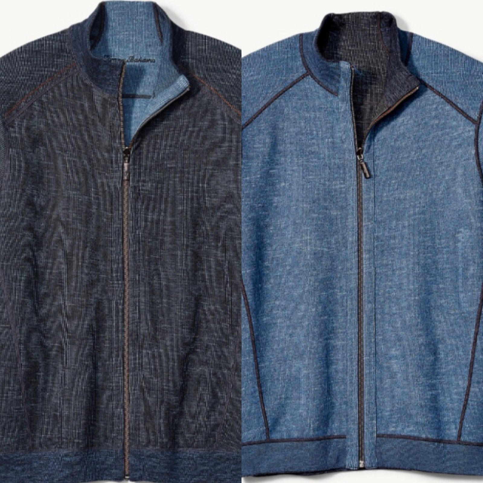 Tommy Bahama Flipsider Full Zip Jacket