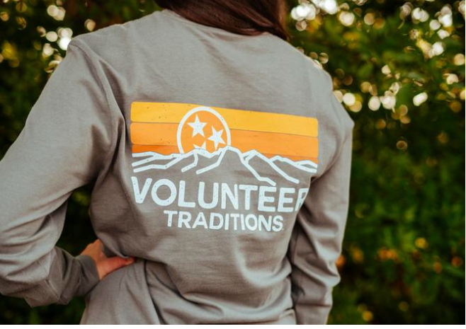 Volunteer Traditions L/S Tee Horizon TB4601