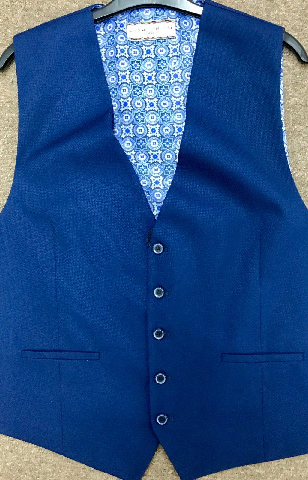 Luchiano Visconti Suit Vest V-160