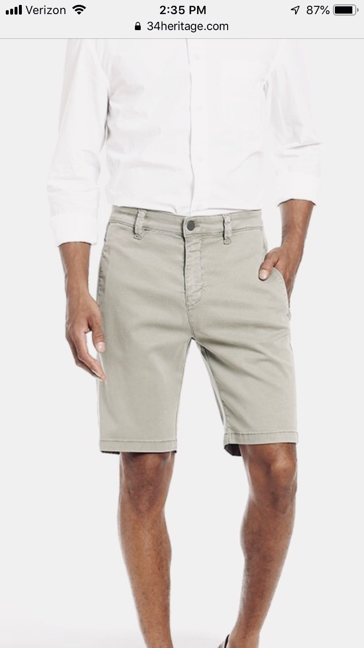 34 Heritage Soft Touch Short