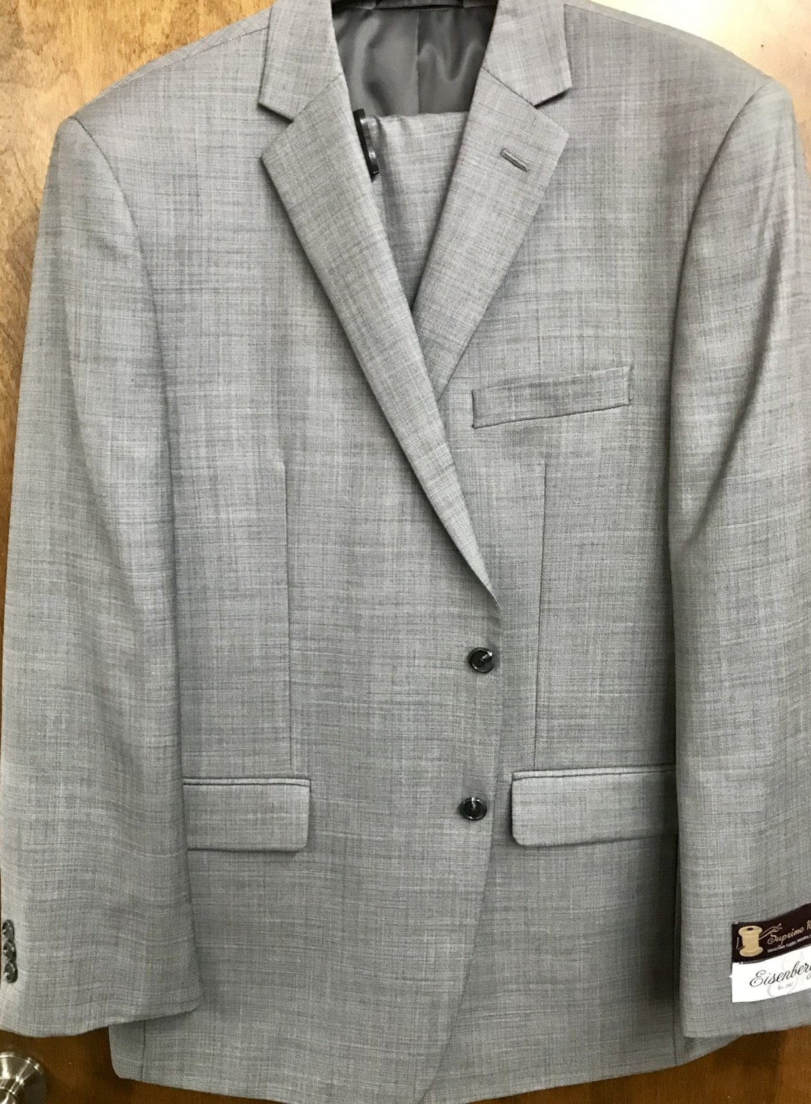 Eisenberg Gray Suit 91323