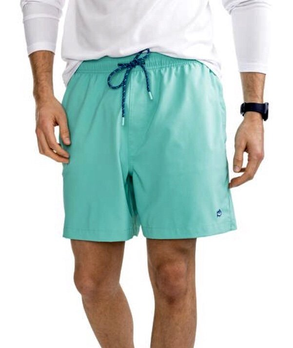 Southern Tide Solid Swim Trunk 4790