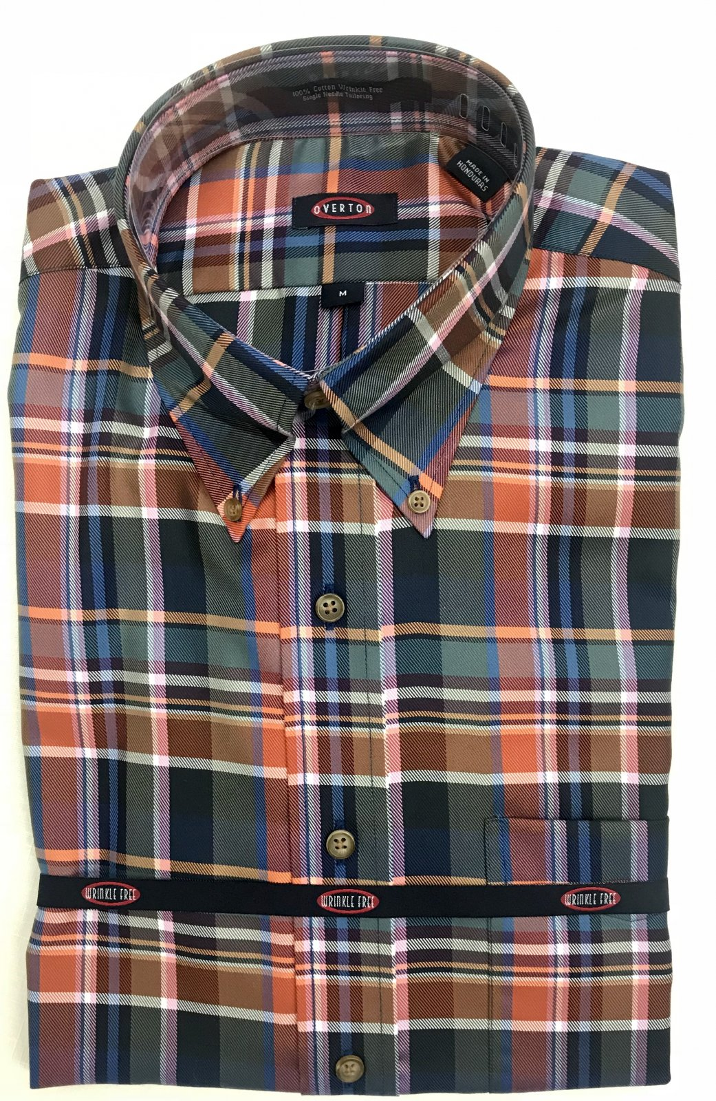 Overton Multi Plaid LS Sportshirt