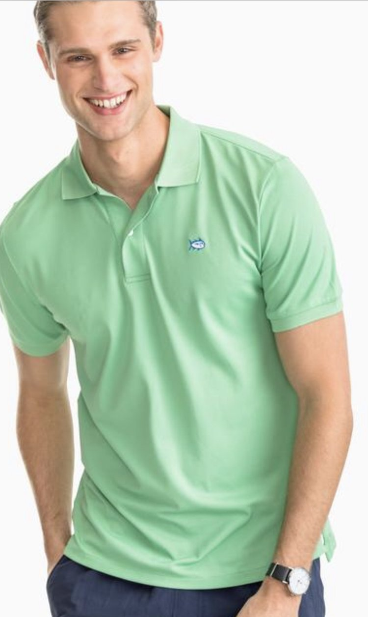 Southern Tide SS Jack Performance Pique Polo