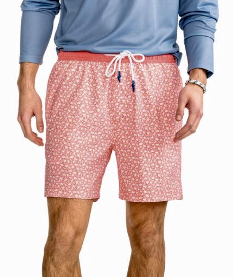 Southern Tide Sea Turtles Swim Trunk 4793