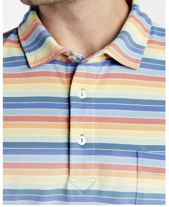 Peter Millar Cannon Bech Stripe Polo