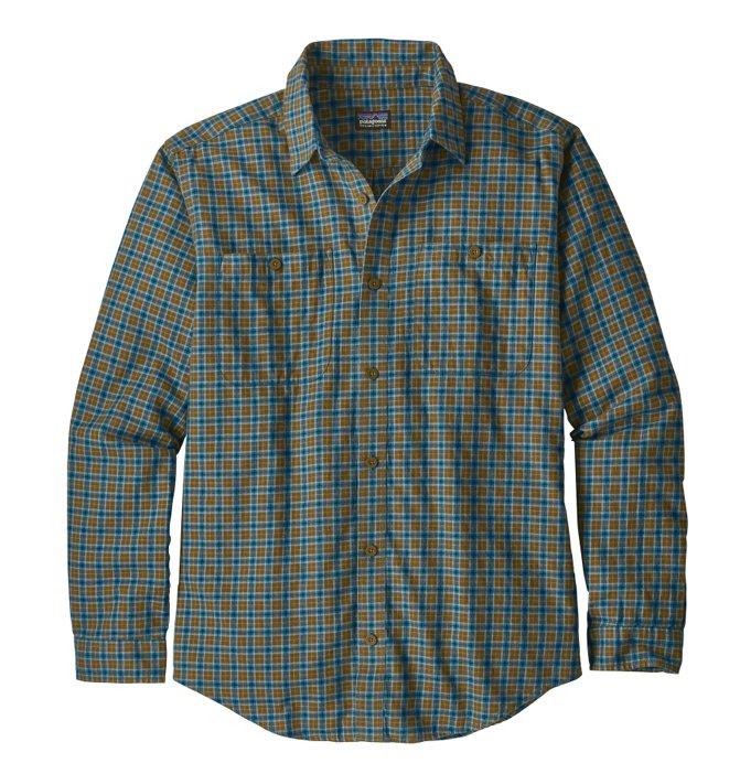 Patagonia Fall 18 LS Pima Shirt-Sticks