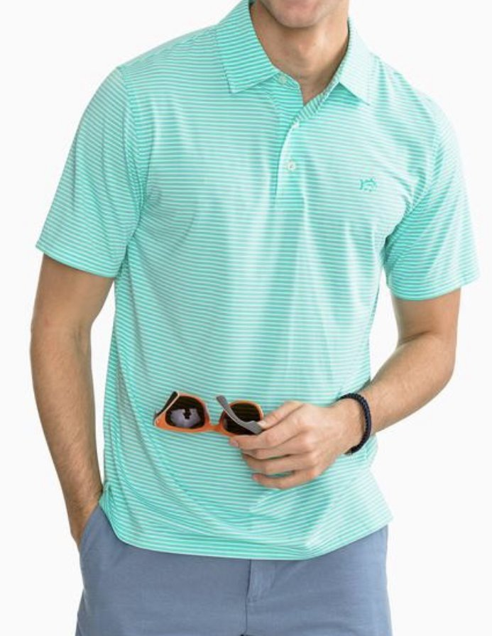 Southern Tide SS Tryall Performance Polo 4758