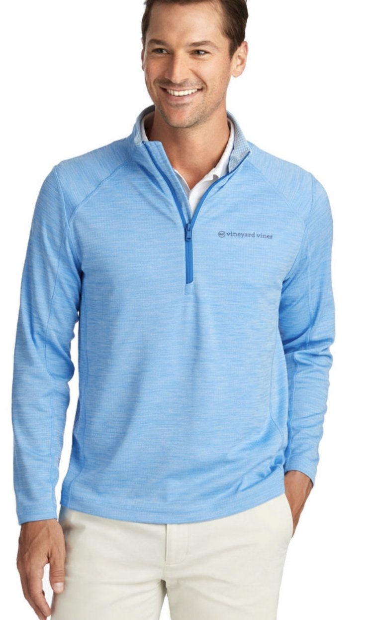 Vineyard Vines Sankaty Performance 1/2 Zip Pullover