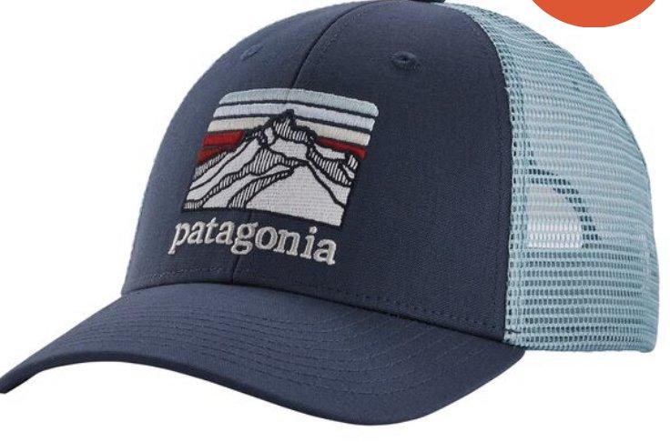 Patagonia Line Logo Ridge LoPro Trucker Hat 38250