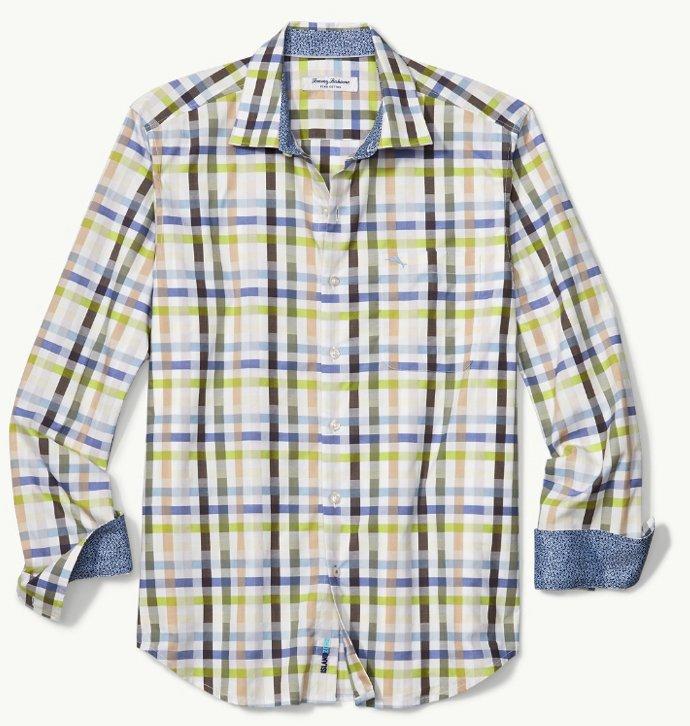 Tommy Bahama Matina Check LS Shirt Fall 18