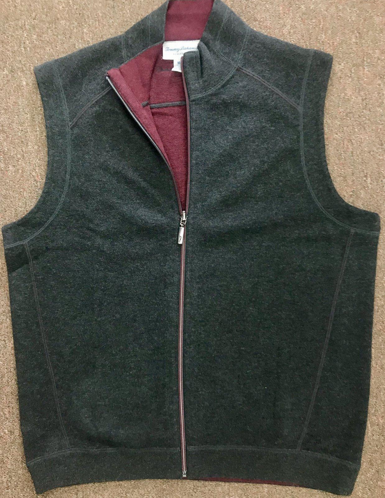 Tommy Bahama Flip Side Classic Zip Vest Fall 18