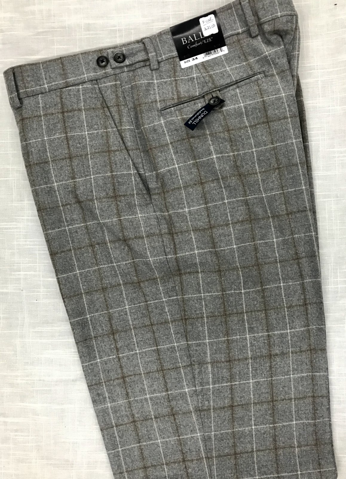 Ballin Dunhill Flannel Pant M51679351