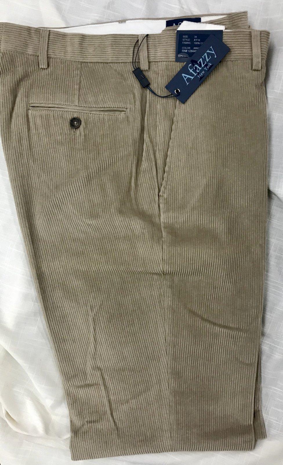 Afazzy Corduroy Pants
