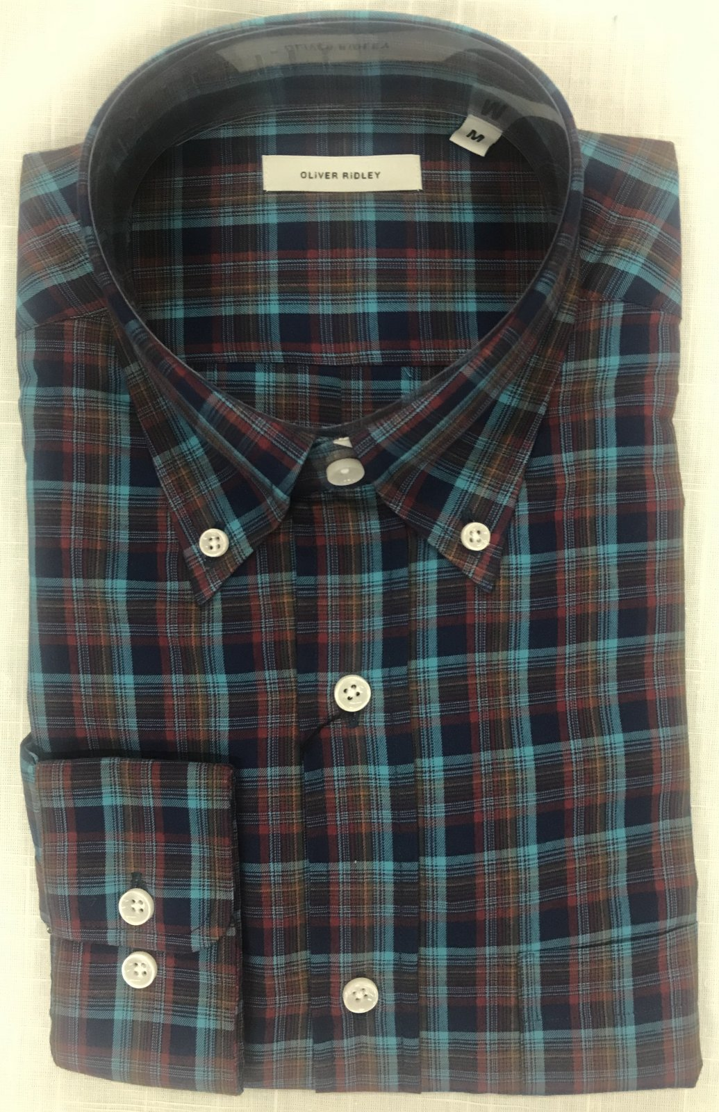Oliver Ridley Goxfrid Brushed Twill Shirt