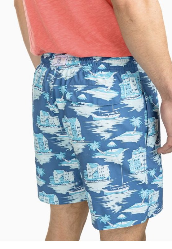 Southern Tide Waterline Swim Trunk 4789