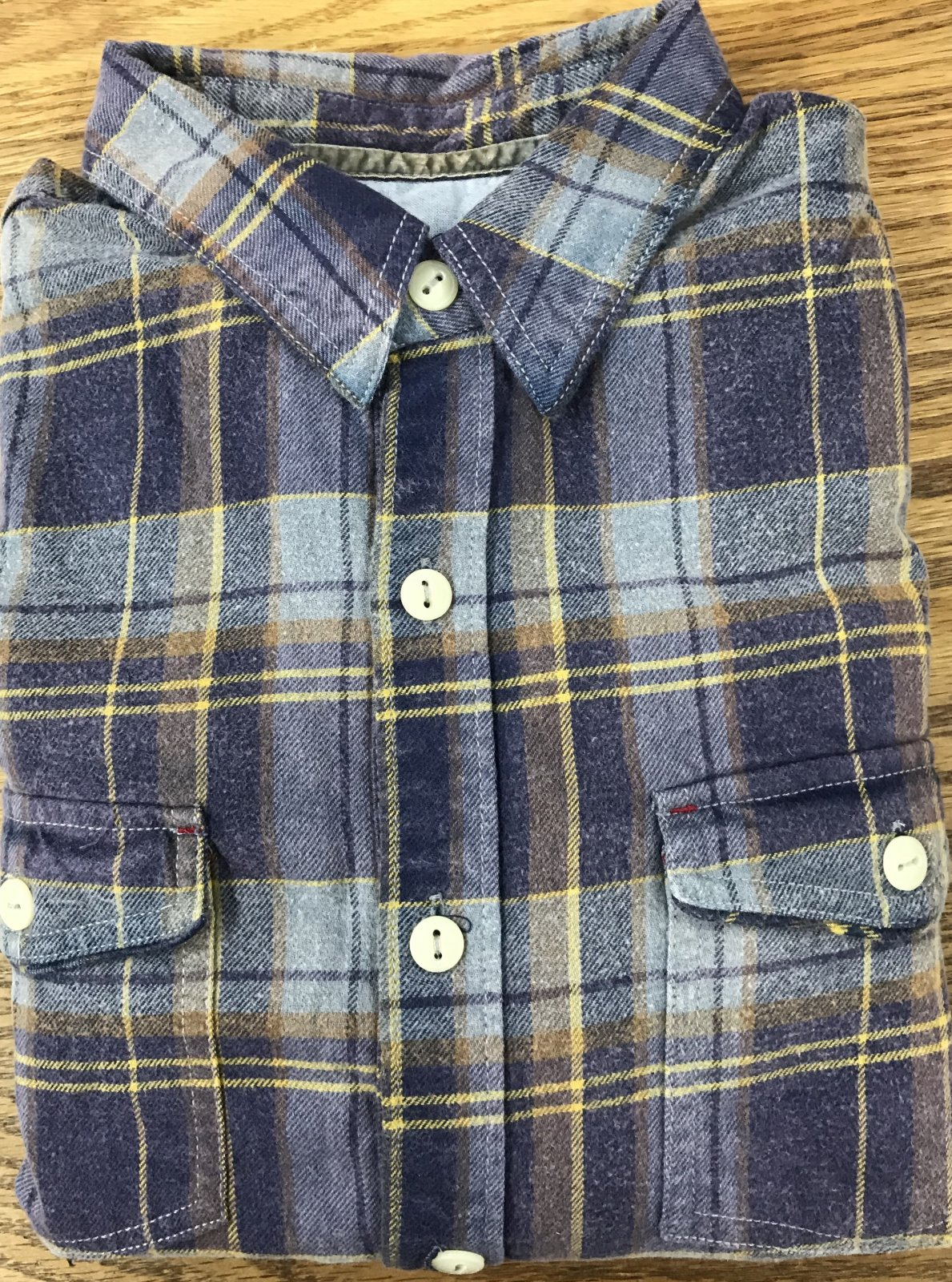 True Grit Memphis Plaid LS Flannel Shirt